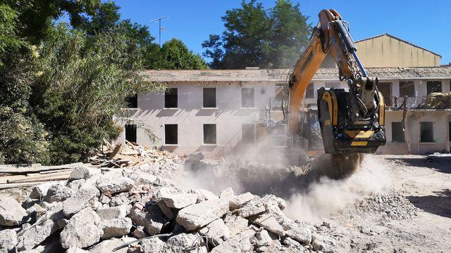 News - Réhabilitation d'un ancien bâtiment avec le concasseur à mâchoires