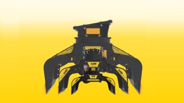 News - 3 новых грейфера для экскаваторов от 1,3 до 25 тонн