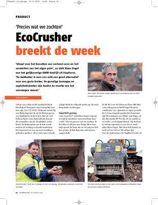 Eco crusher breekt de week