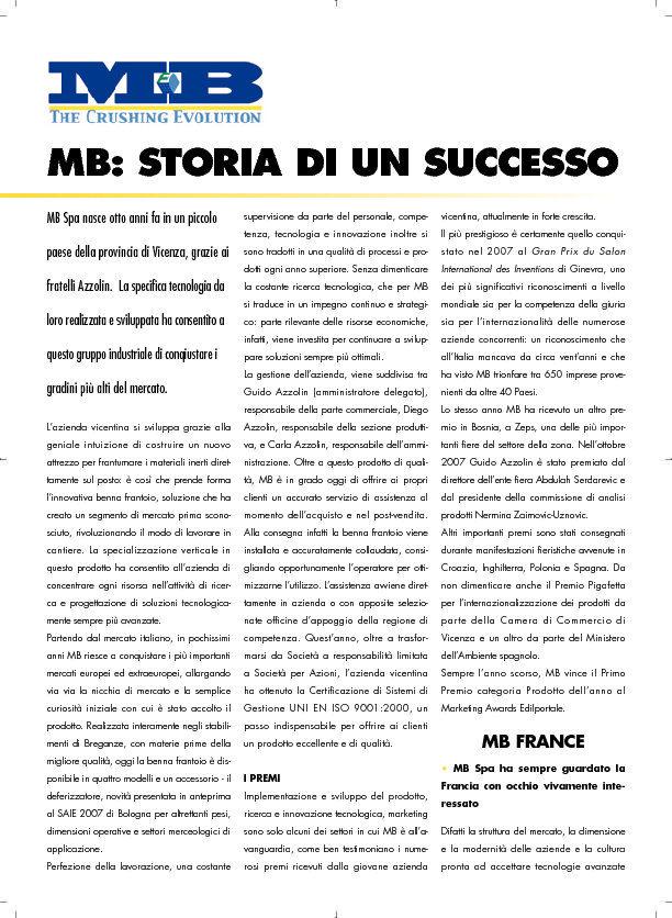 MB: storia di un successo