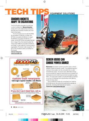 Crusher bucket adapt to excavators