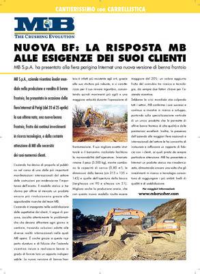 Nuova bf: la risposta MB alle esigenze dei suoi clienti