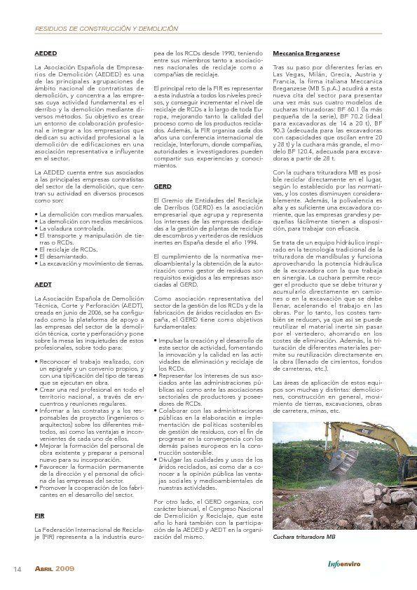 Feria Internacional de la Demolición y el Reciclaje