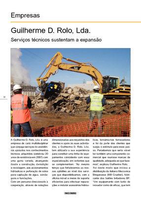Guilherme D. Rolo, Lda. Serviços técnicos sustentam a expansão