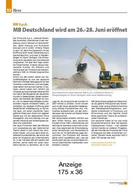 MB Deutschland wird am 26.-28. Juni eröffnet