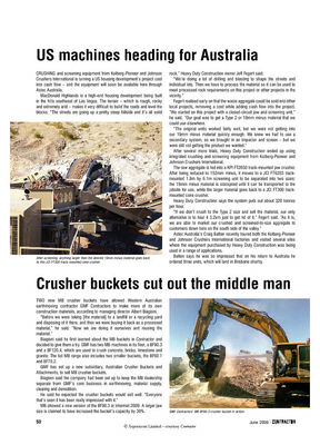 Crusher buckets cut out the middle man
