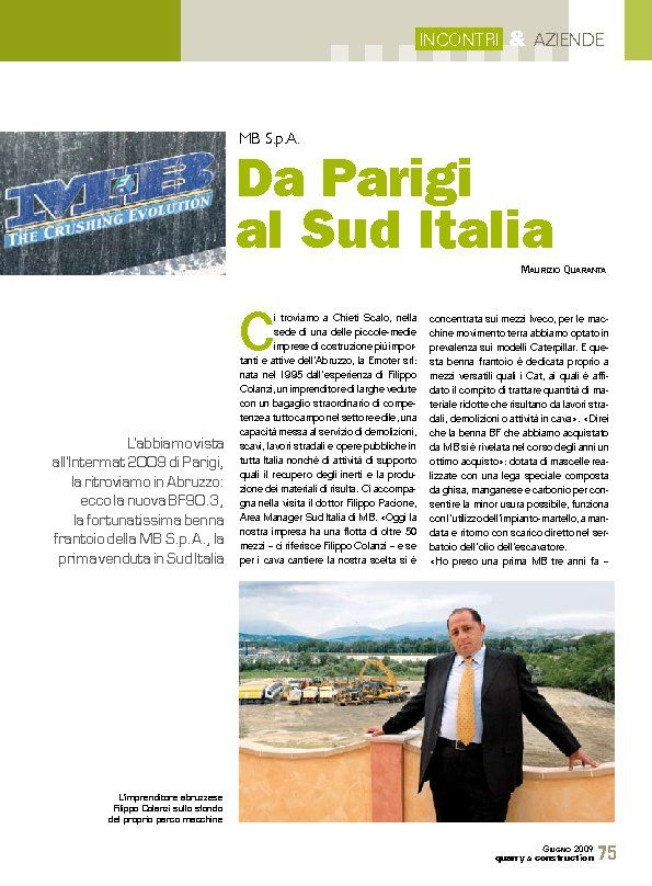 Da Parigi al Sud Italia