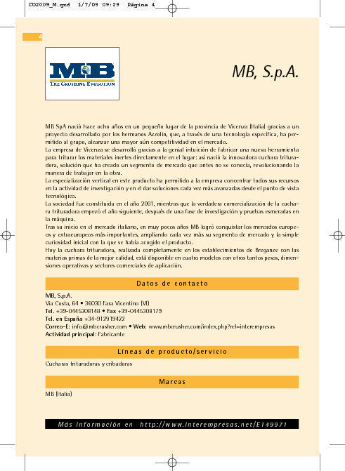 MB S.p.A.