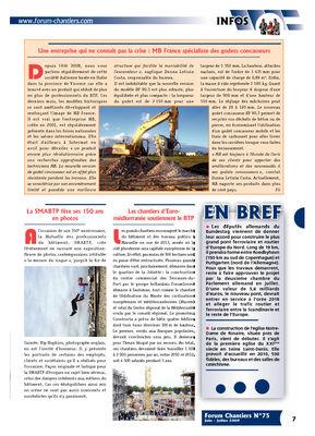 Une entreprise qui ne connaît pas la crise : MB France spécialiste des godets concasseurs