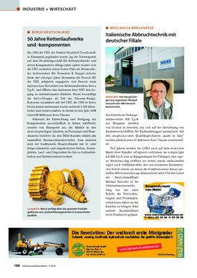 Italienische Abbruchtechnik mit deutscher Filiale