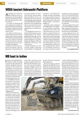 MB baut in Indien