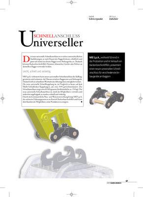 Universeller Schnellanschluss