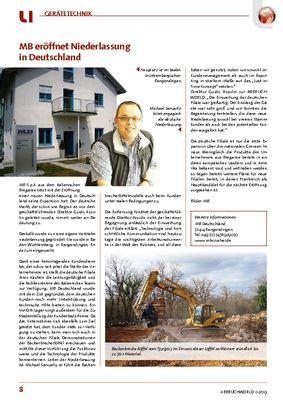 MB eröffnet Niederlassung in Deutschland