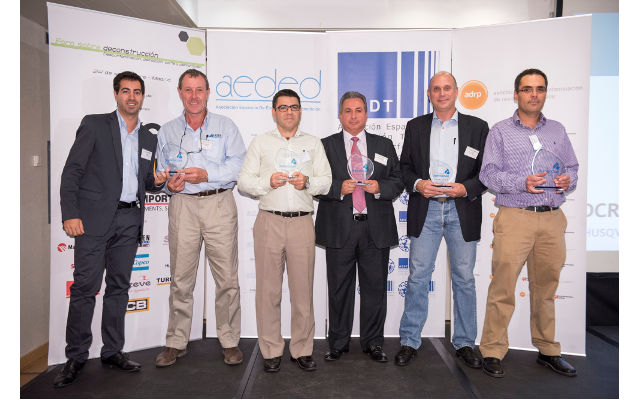 AEDED PREMIO DE DEMOLICIÓN 2015