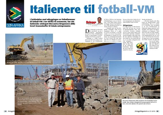 Italienere til fotball-VM