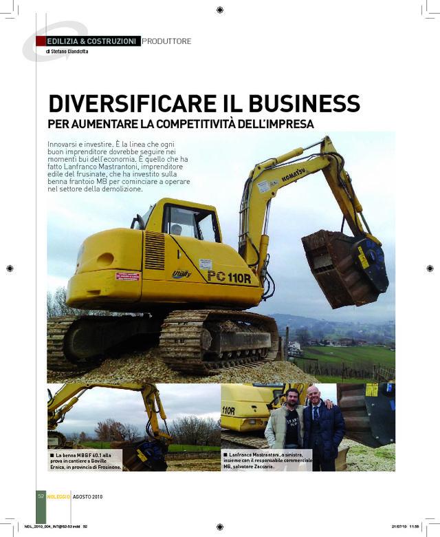 Diversificare il Business