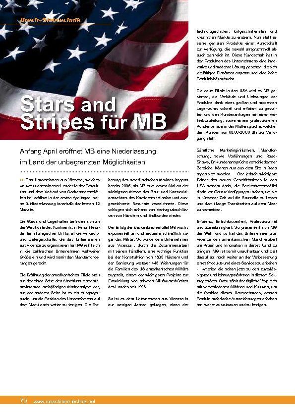Stars and Stripes für MB
