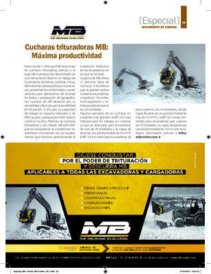 Cucharas trituradoras MB: Máxima productividad