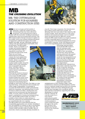 MB, THE CUTTING-EDGE SOLUTION FOR QUARRIES AND CONSTRUCTION SITES