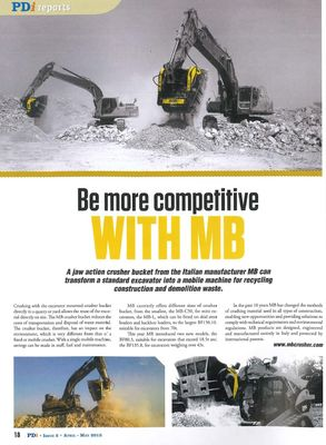 BE MORE COMPETITIVE WITH MB!