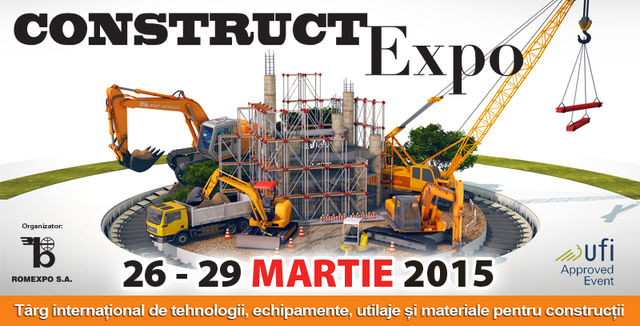 MB will be present at CONSTRUCT EXPO - Bucharest, Romania