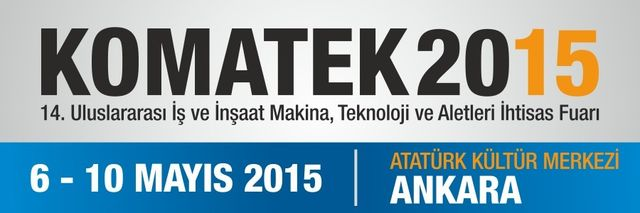 MB S.p.A. will attend the 14th edition of KOMATEK 2015, Ankara