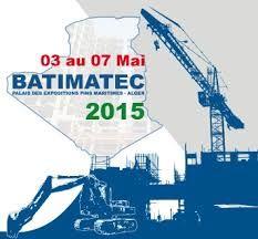 MB invites you to BATIMATEC 2015, 3rd-7th May 2015 - Algeria