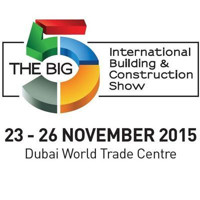 Visit us at Big 5 Dubai - PMW Live, 23rd - 26th  November 2015