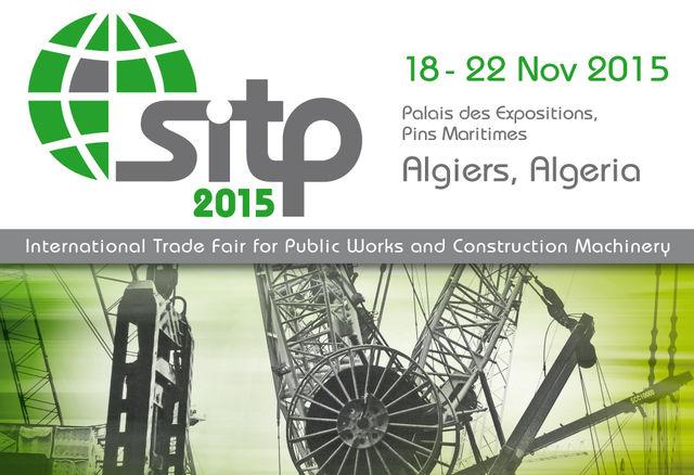 Les godets MB au SITP 2015, Algérie - 18 au 22 Novembre