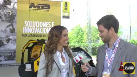 ÚLTIMAS NOTICIAS - Mercado Vial interviews Davinia Acebes at Conexpo Latin America 2016 - Santiago de Chile
