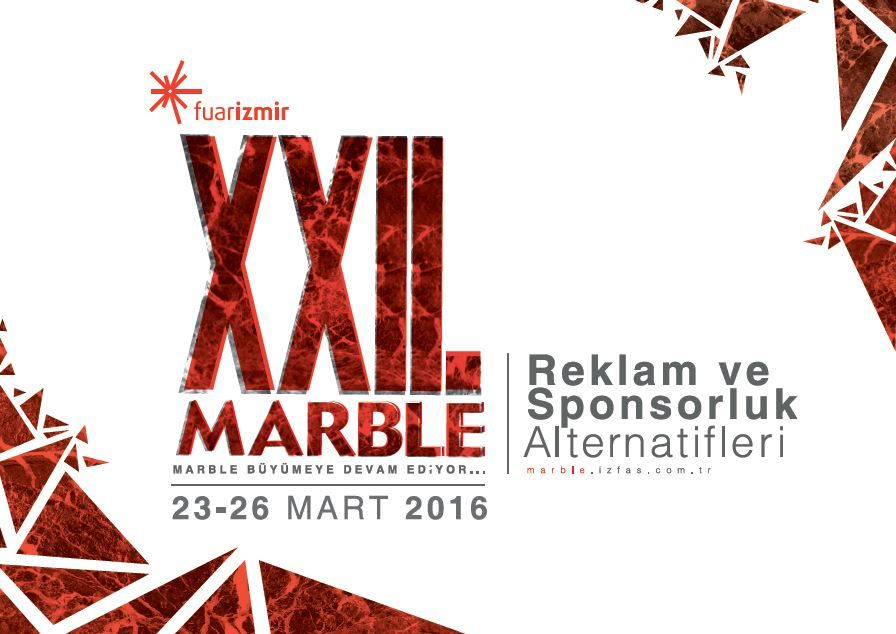 MB Crusher, with its Turkish dealer TRP, will attend the 22th edition of MARBLE, one of the world largest three natural stone fair.