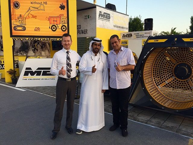MB Crusher will be at BIG 5 Saudi in Jeddah, 7th-10th March 2016