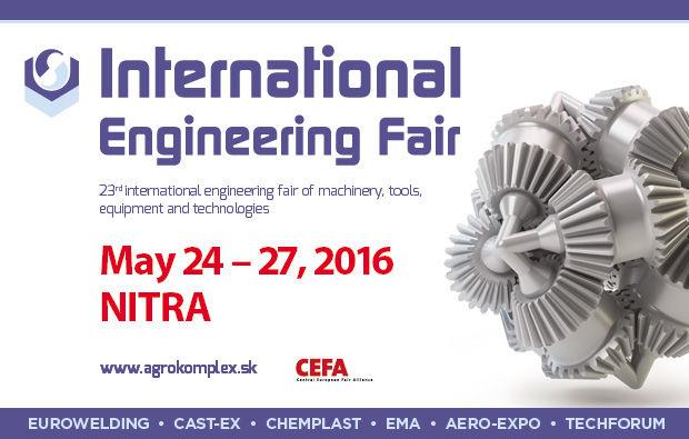 MB at the 23rd International  Engineering Fair in Nitra, Slovakia