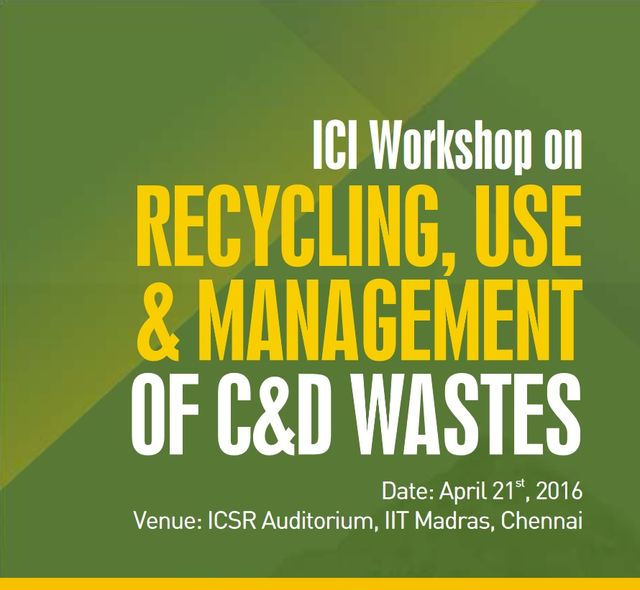MB Crusher India at ICI Workshop in Chennai on June 21st