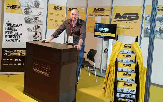 MB France au salon Solutions BTP