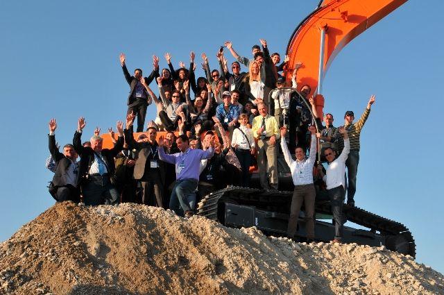 News - GRAND SUCCÈS DE MB S.P.A. AU SALON BAUMA 2010