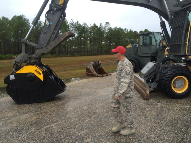 News - Tyndall Air Force Base Gets First BF80.3 Crusher Bucket