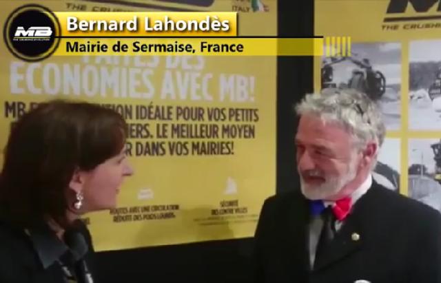 """Bernard Lahondès: """"MB est la réponse à la question que je me pose depuis un an et demi!"""""""