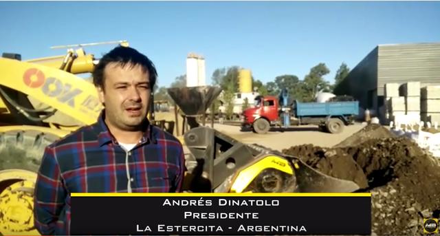 Las cucharas trituradoras MB nos han hecho optimizar muchisimo nuestra planta de hormigón - Entrevista con Andrés Dinatolo y Flavia Diprimio, La Estercita - Argentina