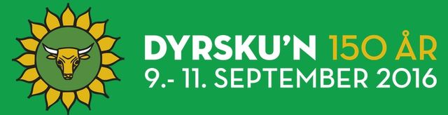 MB invites you to DYRSKUN Expo, 09 -11  September 2016 in Seljord, Norway!