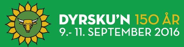 MB invites you to DYRSKUN Expo, 09 -11  September 2016 in Seljord, Norway!