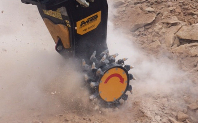 MB Crusher has expanded its range of products with three new MB-R hydraulic drum cutters available for excavators from 6 to 35 t.