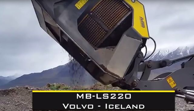 News - Screening with the new MB-LS220 in the extreme borders of Iceland