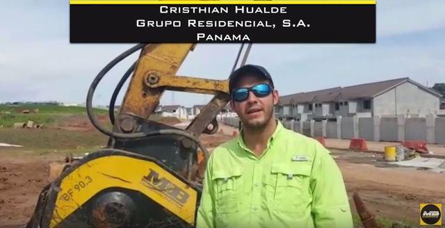 Entrevista con Cristian Hualde de Panama
