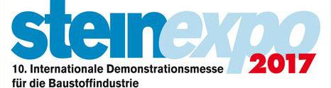 MB Crusher wieder im größten Basaltsteinbruch Europas für die 10. Ausgabe der Steinexpo