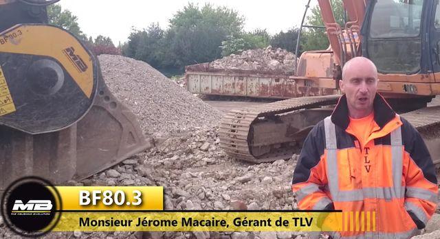 Entretien avec Monsieur Jérome Macaire Gérant de TLV