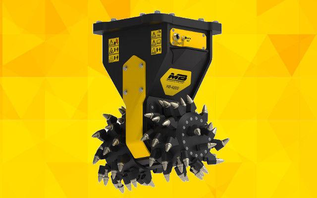 MB-R800 rock grinder