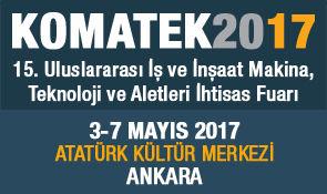MB at KOMATEK 2017 – Ankara, Turkey
