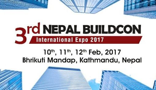 MB India will be present at Nepal Buildcon - 10th - 12th February 2017, Kathmandu