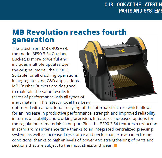 MB Revolution reaches the fourth generation